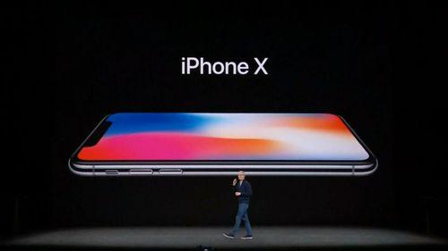 Apple CEO Tim Cook onstage.