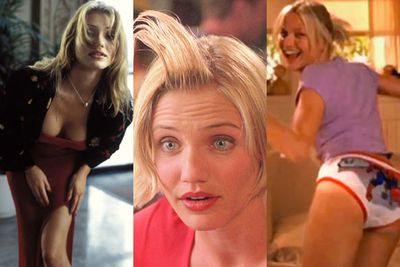 """Cameron Diaz is in Australia with Kate Upton and Leslie Mann to promote their upcoming rom-com, <i>The Other Woman</i>.<br/><br/>To celebrate our fave rom-com Queen's arrival, TheFIX has compiled a few of our fave moments in her career. <br/><br/>From THAT sperm gel moment in <i>There's Something About Mary</i>, to dating Justin Timberlake and doing an Aussie Coca Cola ad, check out Cameron Diaz's most defining moments...<br/><br/>(<i>Author: <b><a target=""""_blank"""" href=""""https://twitter.com/yazberries"""">Yasmin Vought</a></b></i>)"""