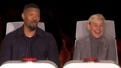 Jamie Foxx makes candid sex confession on Ellen