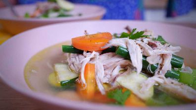 Jane's easy chicken soup