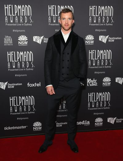Tim Draxl the Helpmann Awards 2017, Capitol Theatre, Sydney.