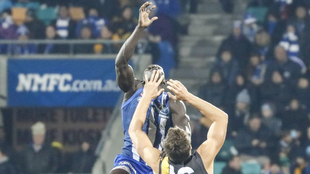Roos romp home over Tigers in Hobart