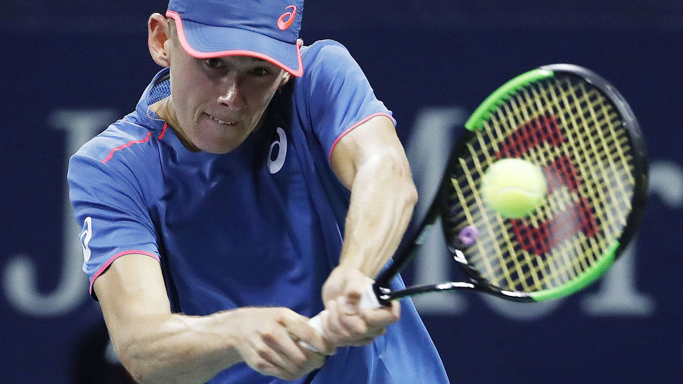 Alex de Minaur is through to the third round of the US Open