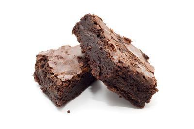 Chocolate brownie: 8 teaspoons of sugar