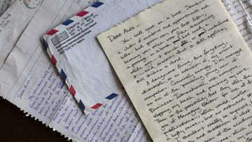 Barack Obama's letters to his college girlfriend. (AP)
