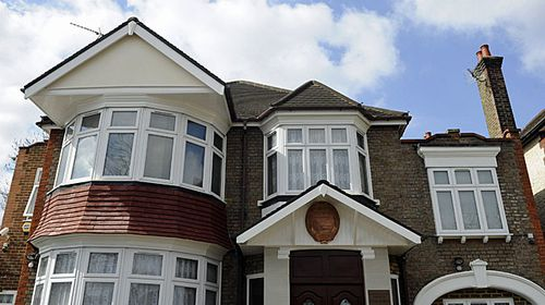 A file picture dated 06 April 2013 shows the North Korean embassy in London, Britain. (AAP)