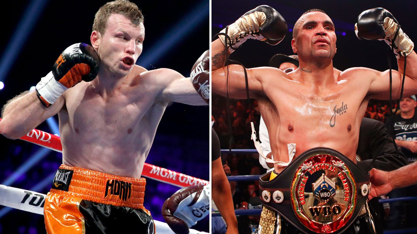 'I'll stand': Jeff Horn responds to Anthony Mundine's controversial anthem plan