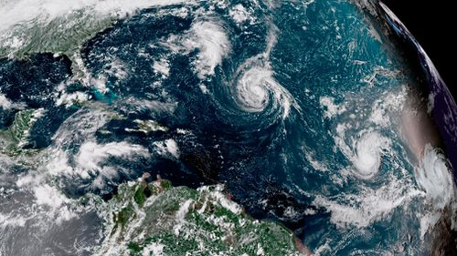 "Tropical Storm Florence is becoming a ""better organised"" weather system that will likely strengthen into a hurricane late today, weather forecasters are warning."