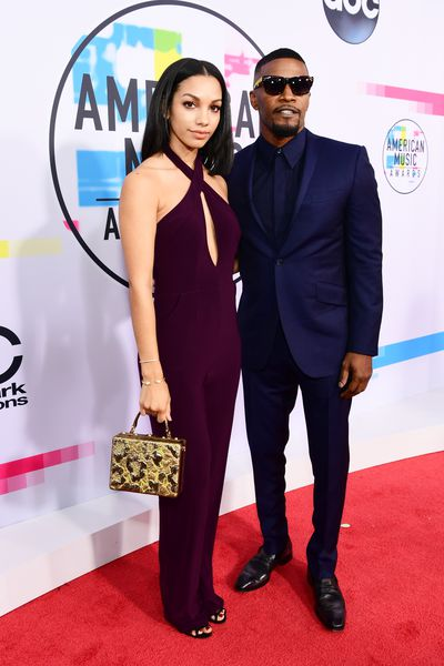 Jamie Foxx and daughter Corinne