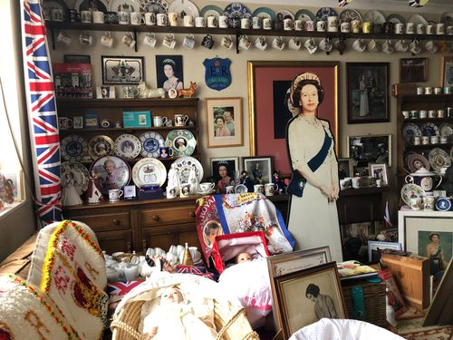 Mrs Tyler's home has been mistaken for a museum and is well-known to royal fans.