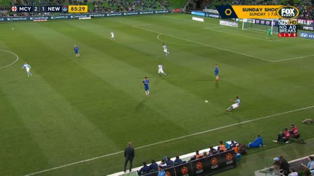 City try out 12 on A-League pitch