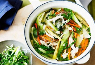 """<a href="""" /recipes/ichicken/8348531/chicken-noodle-soup """" target=""""_top"""">Chicken noodle soup<br> </a>"""