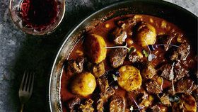 Sam Burke's goat massaman curry