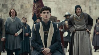 Timothée Chalamet, The King, movie, Netflix