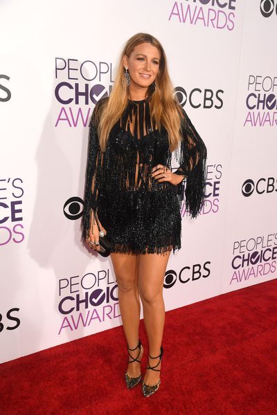 <p>Blake Lively wore Elie Saab – which in this case was a mistake. Blake is gorgeous. The outfit too. But it's not flattering for a woman with curves.</p> <p>Image: Getty.</p>