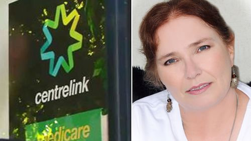 Tracey Hoolachan received a letter from Centrelink the day after her right leg was amputated.