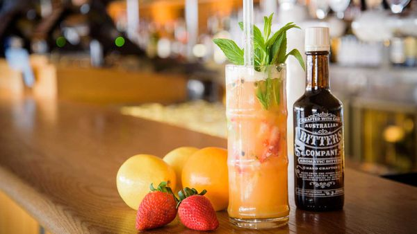 Opera Bar's Tropical fun mocktail