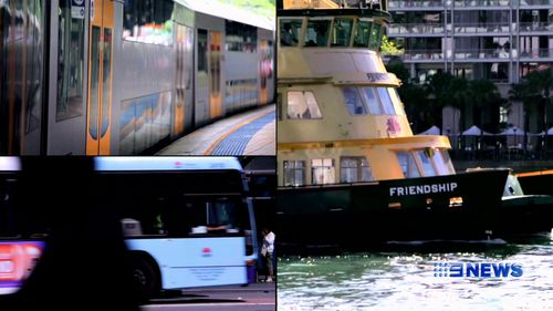 Changes to train, bus and ferry timetables could make trips longs. (9NEWS)