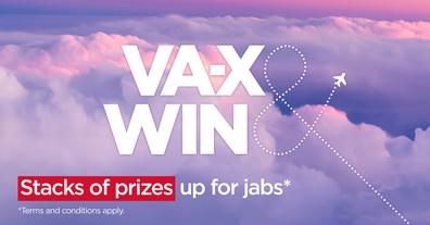 Virgin Australia vaccination competition poster