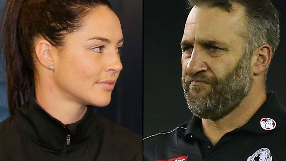 Sharni Layton (left) and Anthony Rocca (right). AAP