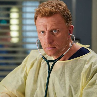 Grey's Anatomy star Kevin McKidd as Owen Hunt.