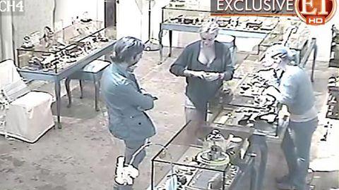 Lindsay Lohan surveillance tape