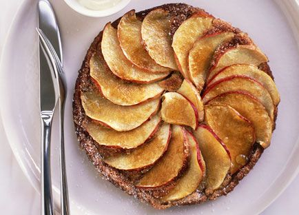 Russian treacle and apple pancakes