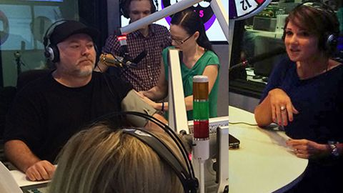 Chris Bath calls Kyle Sandilands 'obese' and tells him to 'lose weight' in on-air blood pressure check