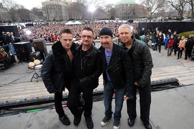 <b>Released:  </b> <i>Songs of Ascent</i> -  Before May?<br/><br/><br/><b>The Hype: </b> Bono reckons the Irish rockers have enough material for three albums worth, including a dance-flavoured disc.<br/>