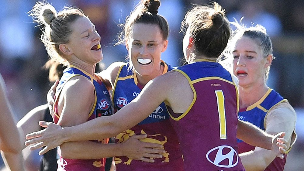 The Brisbane Lions will play the AFLW decider at the Gold Coast. (AAP)