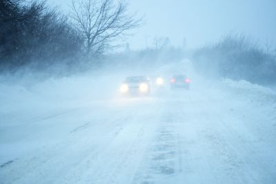Poland: Roads have become hazardous across Europe with unrelenting snowfall