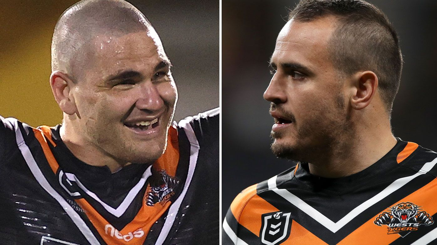 Josh Reyonlds and Russell Packer walk out on Tigers in stunning comeback win over Manly