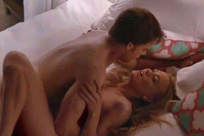 Serial killer Dexter (Michael C Hall) had some pretty raunchy sex with murderous maven Hannah (Aussie Yvonne Strahovski).