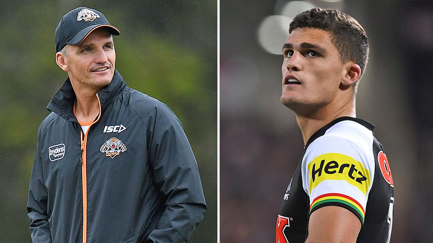 Wests Tigers coach Ivan Cleary wary of facing talented son Nathan at Penrith Panthers