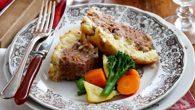 Shepherd's meatloaf