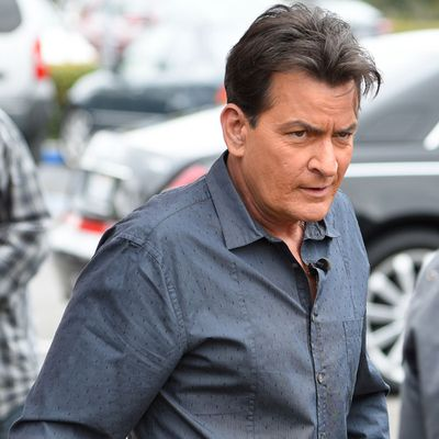 <p>Charlie Sheen</p>