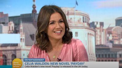 Susanna Reid talks to Celia Walden on Good Morning Britain