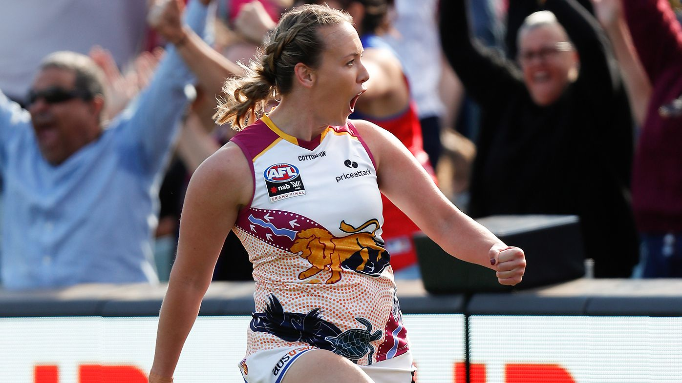 Brisbane Lions claim AFLW premiership in third grand final after win over Adelaide