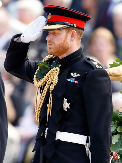 Prince Harry has been forced to give up his military titles.
