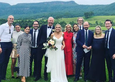 Cathrine Mahoney's dry wedding experience
