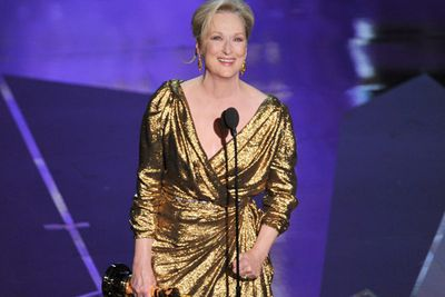 Deserve to win? Could there be any other winner? No disrespect to Viola Davis and Michelle Williams, but this was definitely Meryl's year. Seventeen nominations, three wins - and counting! Watch her speech next:<br/>