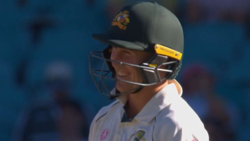 Stump mic specialists Tim Paine, Matthew Wade and Marnus Labuschagne leave Shane Warne speechless for once