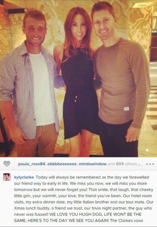 Kyly Clarke's full post. (Instagram)