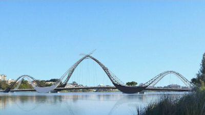 Tourists to climb controversial new Perth stadium bridge