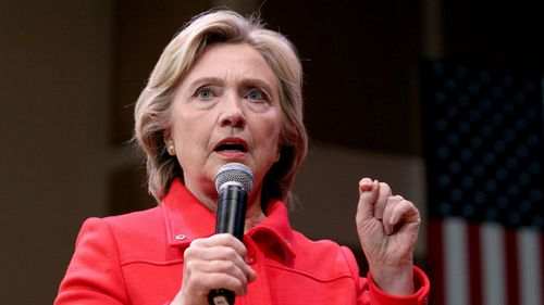 """Democratic candidate Hillary Clinton called Trump's comments """"horrific and telling"""". (AAP)"""