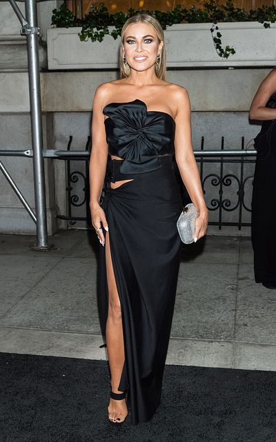 Model Carmen Electra at the Harper's Bazaar Icons party in New York, September, 2018