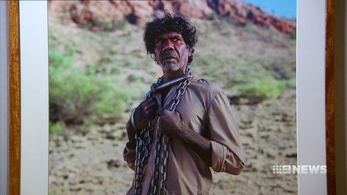 The exhibition covers a century of Australian films. (9NEWS)