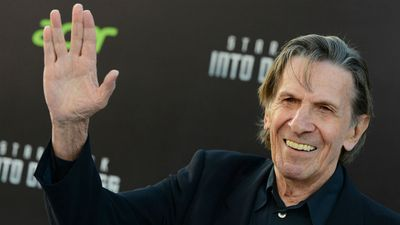 Nimoy at the Star Trek: Into Darkness premiere in 2013. (AAP)
