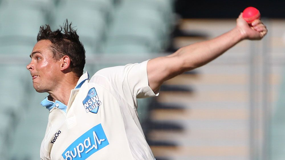 NSW off-spinner Stephen O'Keefe. (AAP)