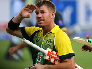 David Warner. (Getty)